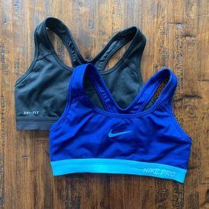 Nike Pro Classic Dri-Fit Sports Bra 2 Pack